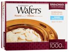 "Communion Bread 1000 Wafers 1 1/8"" Round"