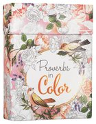 Adult Boxed Coloring Cards: Proverbs in Color Box