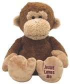 Charlie Monkey: Jesus Loves Me Soft Goods