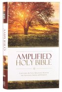Amplified Holy Bible (Black Letter Edition)