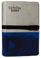 NIV Adventure Bible Gray Blue Clip Closure (Black Letter Edition) Premium Imitation Leather
