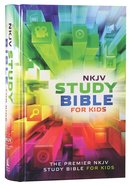 NKJV Study Bible For Kids (Black Letter Edition)