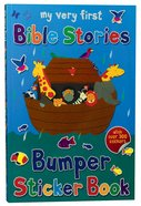 My Very First Bible Stories Bumper Sticker Book (My Very First Sticker Book Series) Paperback