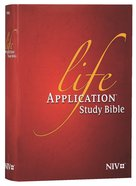 NIV Life Application Study Bible Red Letter Edition