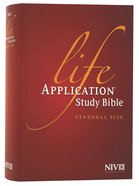 NIV Life Application Study Bible Personal Size (Black Letter Edition)
