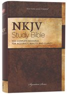 NKJV Study Bible 2nd Edition (Black Letter Edition) Hardback