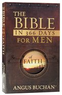 Bible in 366 Days For Men of Faith (Nlt) Paperback