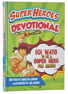Super Heroes Devotional Hardback