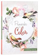 Proverbs in Color (Adult Coloring Books Series) Paperback