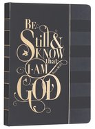 Journal: Be Still & Know.....Black, Saved By Grace