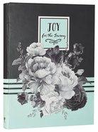 Botanical Journal: Joy For the Journey, Green/Black/White/Roses Hardback