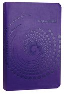 NKJV Deluxe Gift Bible Purple Leathertouch Imitation Leather