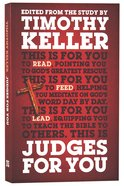 Judges For You (God's Word For You Series) Hardback