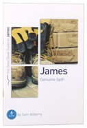 James - Genuine Faith (The Good Book Guides Series) Paperback