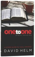 One-To-One Bible Reading Paperback