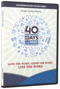 40 Days in the Word: Group DVD