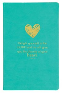 Flexi Cover Journal: Delight Yourself in the Lord, 13.9cm X 21.5cm