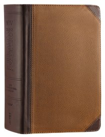 NIV Zondervan Study Bible Full Colour Personal Size Chocolate Caramel (Black Letter Edition)