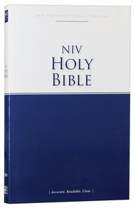 NIV Economy Outreach Bible (Black Letter Edition)