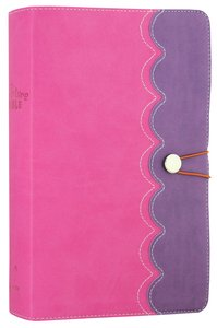 NIRV Adventure Bible For Early Readers Amethyst Pink With Closure (Black Letter Edition)