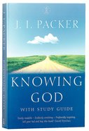 Knowing God (With Study Guide) Paperback