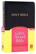 NLT Gift & Award Black (Red Letter Edition) Imitation Leather