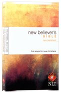 NLT New Believer's New Testament (Black Letter Edition) Paperback