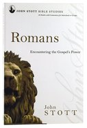 Jsbs Romans (John Stott Bible Studies Series)