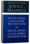 Maxwell 2-In-1: Developing Leaders Around/Within You