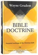 Bible Doctrine (2009 Re-jacket) Hardback