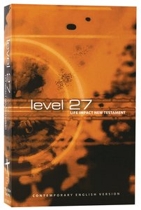 CEV Level 27 Youth New Testament (Black Letter Edition)
