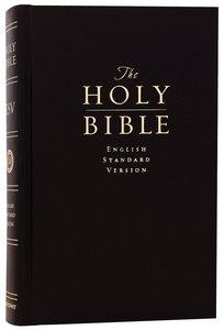 ESV Pew Bible Black (Black Letter Edition)