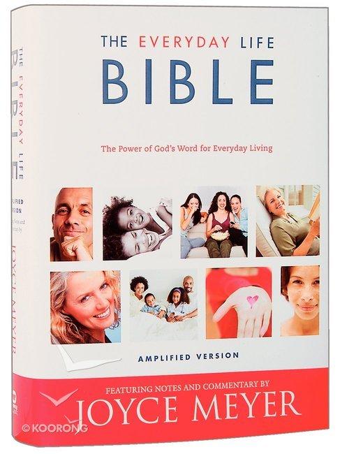 Buy The Amplified Joyce Meyer Everyday Life Bible By Joyce Meyer