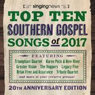 Singing News Top 10 Songs 2017 CD