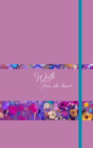 Journal: Write...From the Heart (Orchid)