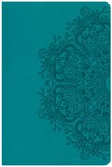 CSB Large Print Personal Size Reference Bible Teal
