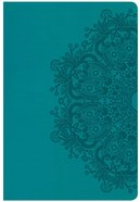 CSB Giant Print Reference Bible Teal (Red Letter Edition) Imitation Leather