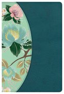 CSB Study Bible For Women Teal Flowers Imitation Leather