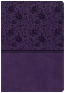 CSB Super Giant Print Reference Bible Purple Imitation Leather