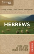 Hebrews (Shepherd's Notes Bible Summary Series) Paperback
