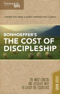 The Cost of Discipleship (Shepherd's Notes Bible Summary Series) Paperback
