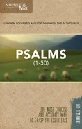 Psalms 1-50 (Shepherd's Notes Bible Summary Series) Paperback