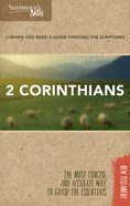 2 Corinthians (Shepherd's Notes Bible Summary Series) Paperback