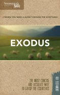 Exodus (Shepherd's Notes Bible Summary Series) Paperback