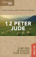 1, 2 Peter, Jude (Shepherd's Notes Bible Summary Series) Paperback
