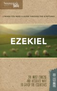 Ezekiel (Shepherd's Notes Bible Summary Series) Paperback