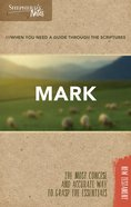 Mark (Shepherd's Notes Bible Summary Series) Paperback