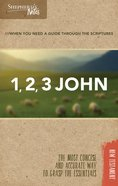 1, 2, 3 John (Shepherd's Notes Bible Summary Series) Paperback