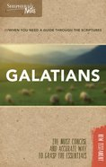 Galatians (Shepherd's Notes Bible Summary Series) Paperback