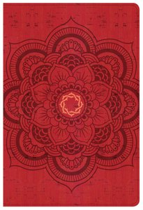 CSB Essential Teen Study Bible Red Flower